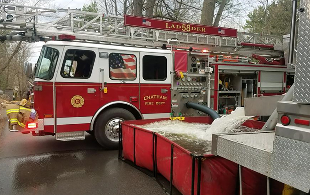 Chatham NY 75 foot aerial ladder 58-51