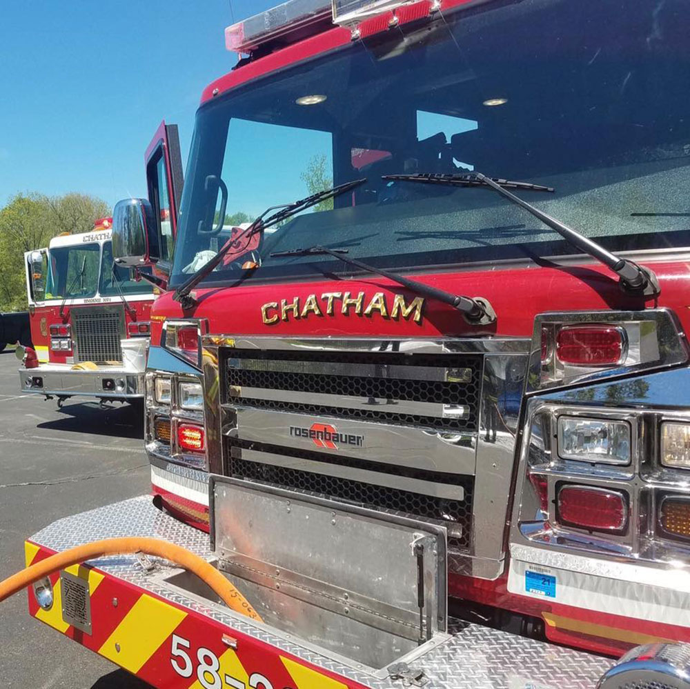 Chatham NY Fire Department Pumper Engine 58-21