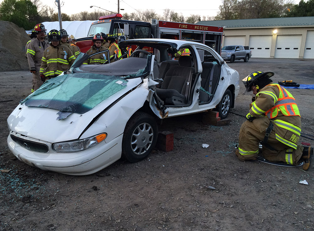 Extrication drill