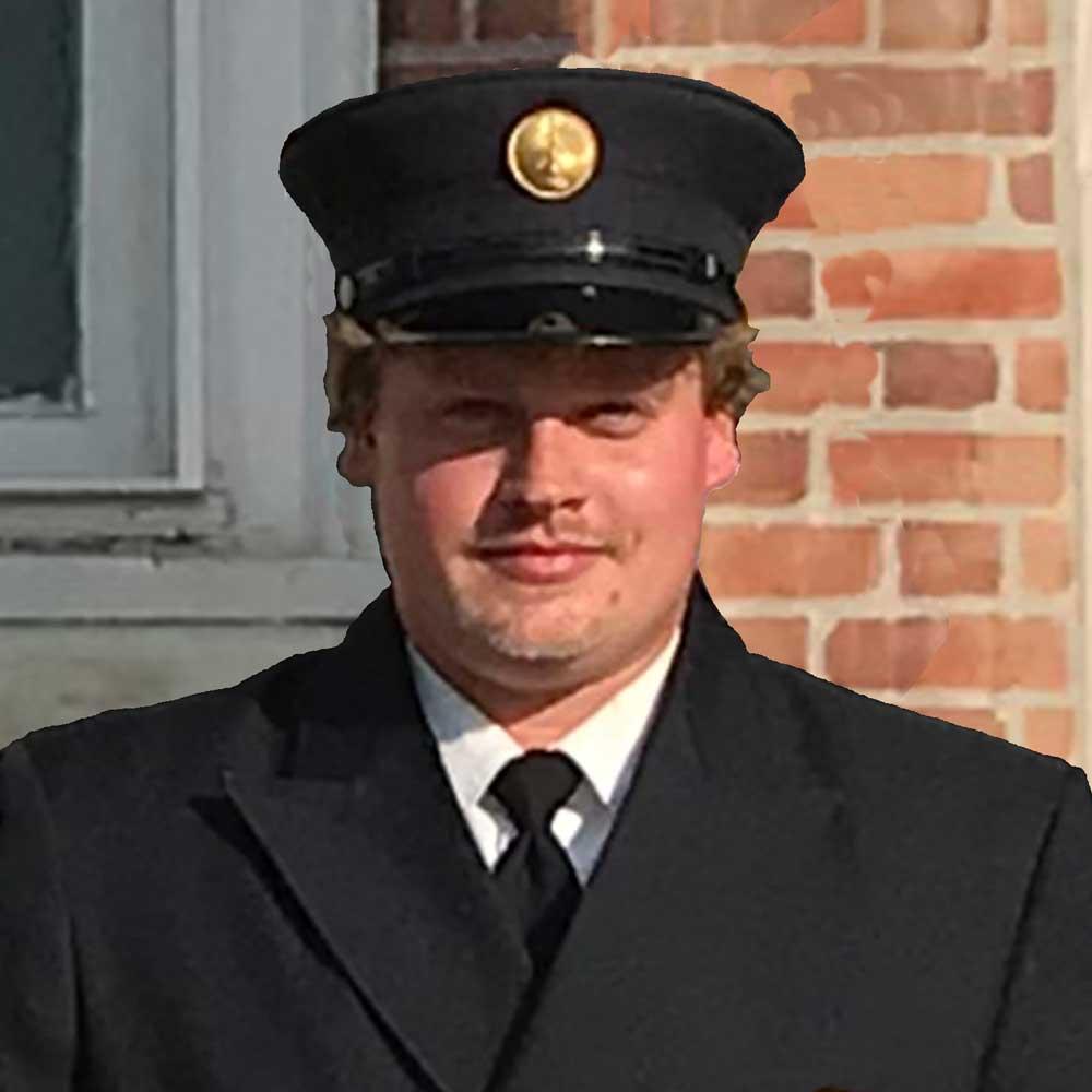 Chatham Fire Department Hook & Ladder 1st Lieutenant Jason Peck