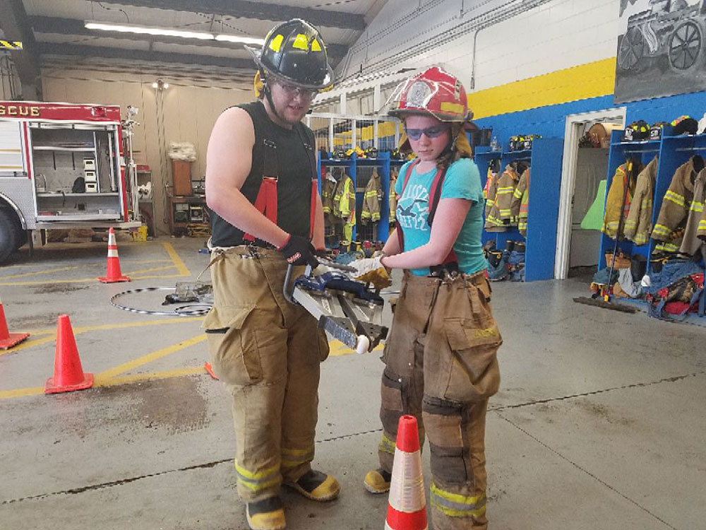 Jaws of life drill