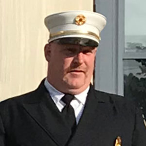 Chatham Fire Department Second Assistant Chief Paul Rideout