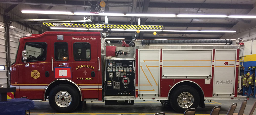 Chatham NY Fire Department Pumper engine 58 22 1