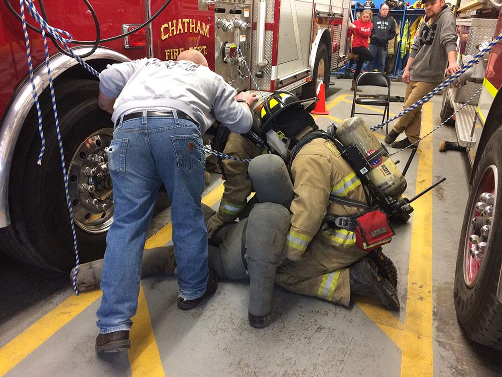 Search and rescue drill