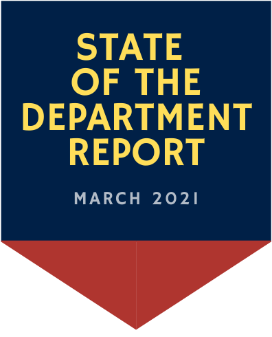 State of the Department Report March 2021 Chatham NY Fire Department