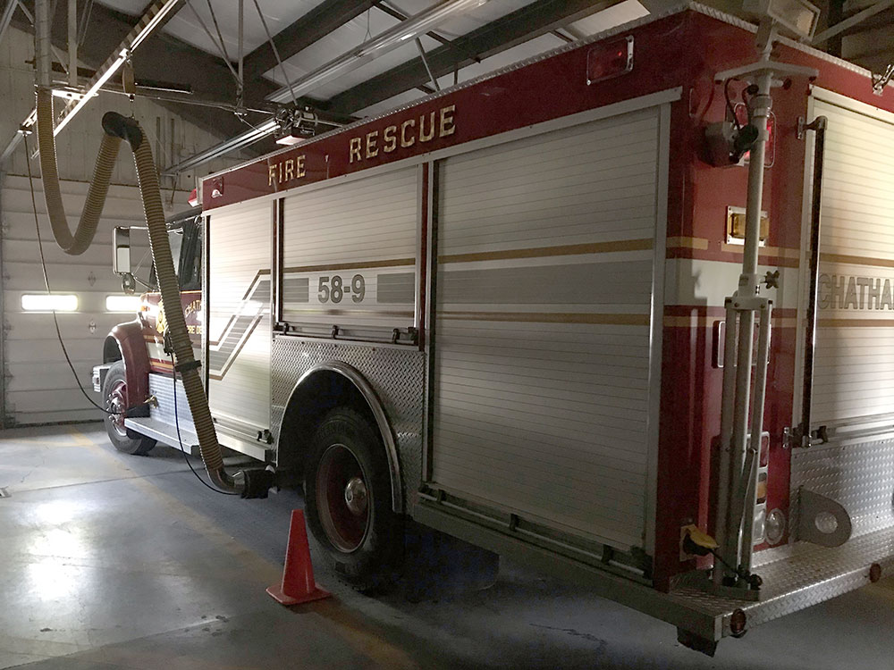 Chatham NY Fire Department Rescue Truck 58-9