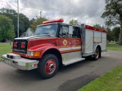 Rescue truck for sale